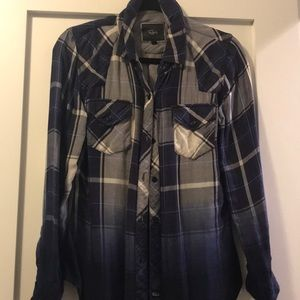 Rails flannel top